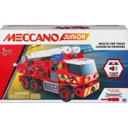 MECCANO Kit Set RESCUE FIRE TRUCK Lights And Sounds Construction ORIGINAL Spin Master 20107