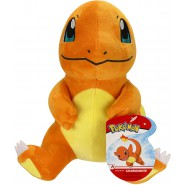 CHARMANDER Plush Sitting 20cm Pokemon FIRE Element - Boti WCT