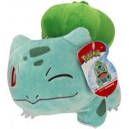 BULBASAUR Plush Closed Eye 20cm Pokemon GREEN Element - Boti WCT