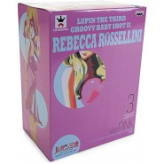SEXY Figure Statue REBECCA ROSSELLINI Version WHITE 20cm BANPRESTO Groovy Baby Shot III 3 Lupin the 3rd Third