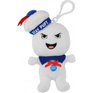 GHOSTBUSTERS Plush 13cm MARSHMALLOW MAN STAY PUFT  Rage Angry Smiling Keyring WITH SOUND