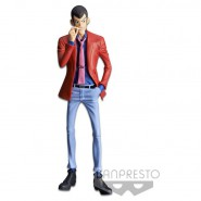 Figure Statue LUPIN with CIGARETTE Red Jacket 26cm Serie MASTER STARS PIECE III 3 Part 5 Original Lupin III Third BANPRESTO