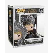 Figure Diorama CERSEI LANNISTER on IRON THRONE from GAME OF THRONES Original FUNKO POP 73