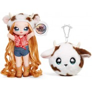 Doll ANNABELLE MOOOSCHE Symbol COW from NA NA NA Surprise SERIE 3 ORIGINAL MGA Lol