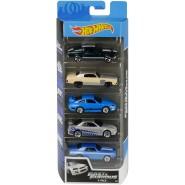 FAST AND FURIOUS Box 5 Models CAR Scale 1:64 Skyline Camaro Mustang MATTEL Hot Wheels GMG69