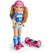 Figure Doll NANCY ONE DAY With Hoverboard 35cm Original GIOCHI PREZIOSI