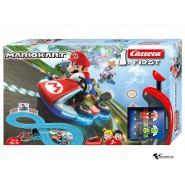 Box Damaged - Refurbished - Electric SLOT CAR Racing MARIO KART Mario VS Yoshi 2,40 Mt CARRERA FIRST 20063014