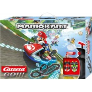 BOX DAMAGED - Refurbished - Electric SLOT CAR Racing MARIO KART Models MARIO and LUIGI 1:43 OFFICIAL Carrera GO Nintendo 62491