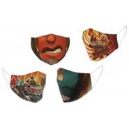 Washable Face Mask GORMITI Random Original 100% COTTON Adjustable Reusable