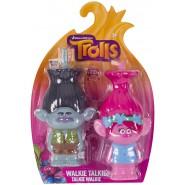 Trolls POPPY and BRANCH Pair 2 WALKIE TALKIE Minion Original IMC Toys