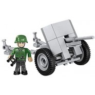 Playset Military Cannon 3,7cm PAK 36 Historical Collection World War II Army COBI 2396