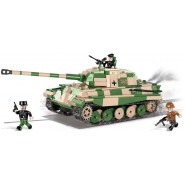 Playset Building Blocks SD. KFZ.182 Konigstiger Tiger II P World War 2 Historical Collection 2480A
