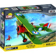 Playset Military PLANE SOPWITH F.1 CAMEL Great War COBI 2975 Building Blocks Historical Collection