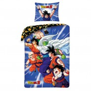 Bed Set DRAGONBALL Z MAIN CHARACTERS With Bag DUVET COVER 140x200 Cotton
