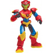 POWER PLAYERS Characters Red Alex 25cm With Sound SUPER SOUNDS HERO Original Zag Heroez Giochi Preziosi