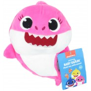 PLUSH Soft Toy 17cm MOMMY SHARK Mum YELLOW from BABY SHARK With Music Song ORIGINAL