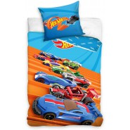 HOT WHEELS Auto Track Bed Set Original DUVET COVER 140x200cm Cotton OFFICIAL