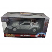 Back To The Future Part 1 Model Car DeLorean DMC Time Machine 1/32 13cm Metal DieCast Jada BTTF