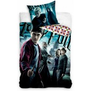 HOGWARTS Bed Set HARRY POTTER Harry and Draco Malfoy 2 Pieces DUVET COVER 160x200cm and Pillow Case 70x80cm Cotton Official