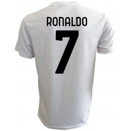 CRISTIANO RONALDO Number 7 JUVENTUS 2020/2021 T-Shirt Jersey HOME Official Replica CR7
