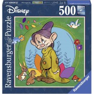 Puzzle DOPEY From Snow white and seven dwarfs 500 Pieces 50x50cm Original Ravensburger DISNEY
