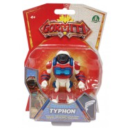 GORMITI Action Figure ALPHA TYPHON Posable 8cm Original Giochi Preziosi