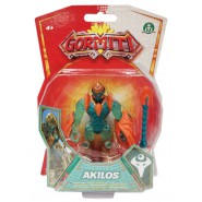 GORMITI Action Figure ALPHA AKILOS Posable 8cm Original Giochi Preziosi