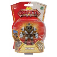 GORMITI Action Figure ALPHA TORAK Posable 8cm Original Giochi Preziosi