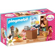 HEIDI Playset KELLER FAMILY SHOP Playmobil 70257
