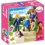 HEIDI Playset CLARA and Miss ROTTENMEIER Playmobil 70258
