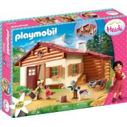 HEIDI Playset GRANDPA ALPIN HUT Playmobil 70253