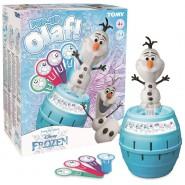 Playset Game Barrel POP-UP Eject OLAF from FROZEN Original DISNEY
