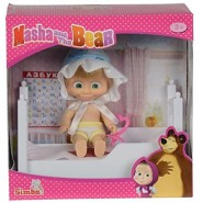 MASHA GOOD NIGHT With BABY BED Original SIMBA