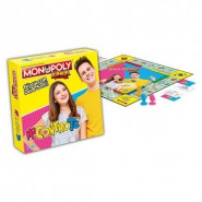ME CONTRO TE Table Board ITALIAN ONLY Game MONOPOLY JUNIOR Hasbro