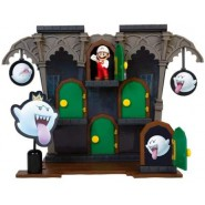 Playset Deluxe BOO MANSION PLAYSET With Figure from SUPER MARIO Jakks Pacific
