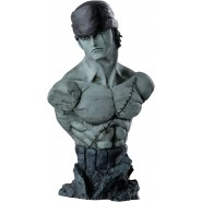ONE PIECE BUST Rough Edges 16cm RORONOA ZORO Version A Banpresto ORIGINALE