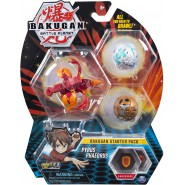 BAKUGAN Starter Set Pack PYRUS PYRAVIAN  Ultra 2 Normal etc. Original Spin Master