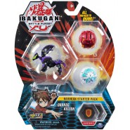 BAKUGAN Starter Set Pack DARKUS KELION 1 Ultra 2 Normal etc. Original Spin Master