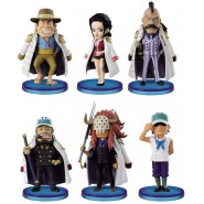 Complete Set 6 Mini Figures ONE PIECE World Collectable Figure Serie 2 WCF Banpresto