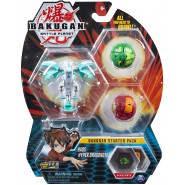 BAKUGAN Starter Set Pack HAOS HYPER DRAGONOID 1 Ultra 2 Normal etc. Original Spin Master
