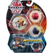BAKUGAN Starter Set Pack AURELUS GORTHION 1 Ultra 2 Normal etc. Original Spin Master