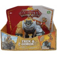GORMITI Figure Hyperbeasts Deluxe ALPHA GOROK and TREK 15cm with LIGHT and SOUNDS Original Giochi Preziosi