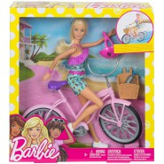 BARBIE with BIKE and Accessories Original Mattel FTV96