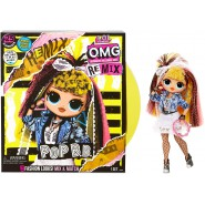 Fashion Doll POP B.B. Serie DISCO REMIX With MUSIC Sound O.M.G. Fashion ORIGINAL L.O.L. Surprise MGA LOL OMG