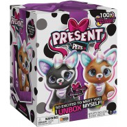 PRESENT PETS Interactive Plush Pet PINK BOX Inside KWEENIE or PRINCESS Random ORIGINAL Spin Master