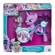 My Little PonyTWILIGHT SPARKLY and SPIKE Talking RUSSIAN ONLY Hasbro C0718