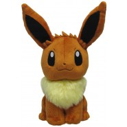 POKEMON EEVEE Plush Soft Toy 20cm Sitting POCKET MONSTERS ORIGINAL Sanei