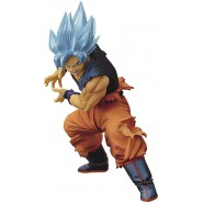 Figure Statue 20cm THE SON GOKOU II MAXIMATIC Banpresto Dragon Ball Super Banpresto Bandai Blue Hair