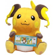 POKEMON Wonderful Plush RAICHU 25cm Soft Original Banpresto Japan