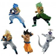 DRAGONBALL Complete Set 5 Different FIGURES from Battle Figure Series SPECIAL 04 Bandai Gashapon